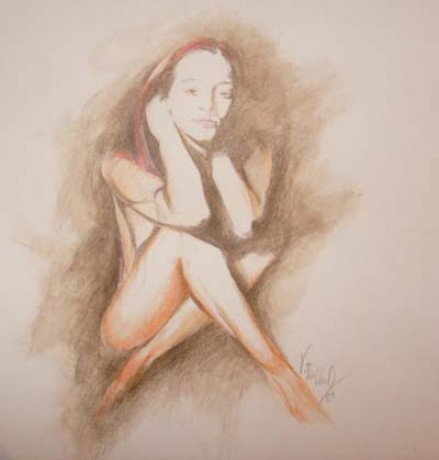 Vlasta Broklova Fotoalbum Akvarelove Pastelky Akvarelove